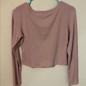 Forever 21 Tops - Soft Pink Crop Top